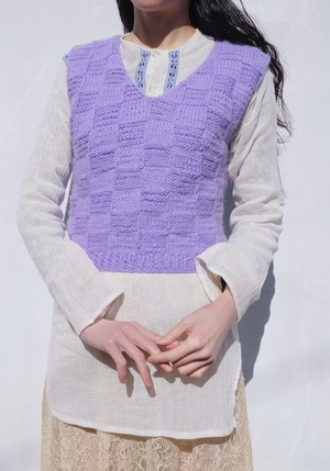 wisteria morning vest.