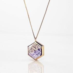 Ametrine KIRIKO Necklace (Hexagon)