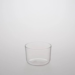 TG glass (ティージーガラス) Glass cup with Wide Mouth (耐熱ガラス) 200ml