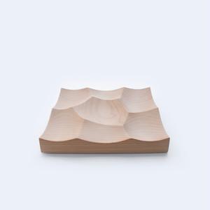 木製トレイ -Storm Tray S(ヨーロッパビーチ)