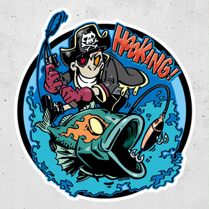BASS PIRATE Sticker