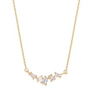 K10YGダイヤモンドネックレス 020209002257