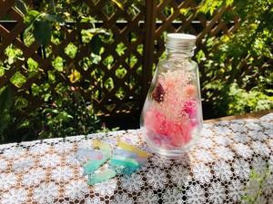風水ラッキーカラーハーバリウム  ピンク