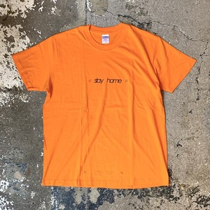 stay home T-shirts A / Orange