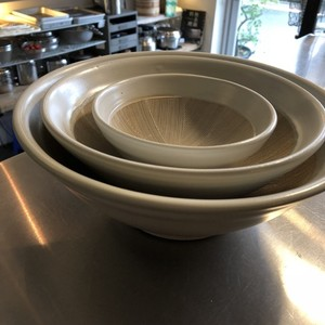 白いすり鉢/19cm