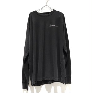 【再入荷】Connecter Tokyo back print logo long sleeve tee   used black