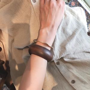 wood bangle 1