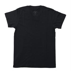 Vestia logo Black T-shirt Vneck