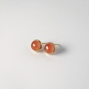 Rosy Drop / Pierced Earring