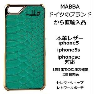 mabba マッバ ドイツ 干潟 イメージ Mrs Laguna gold iphone 5 5s case 本革 レザー ラグーナ アイフォン ファイブ エス ケース セール 海外 ブランド