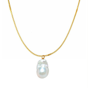 【Sクラス】baroque pearl long necklace