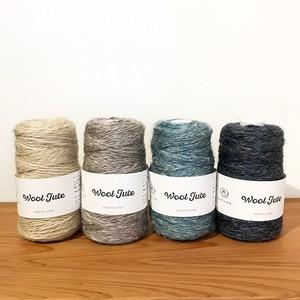 < DARUMA >Wool Jute yarn / ウールジュート糸