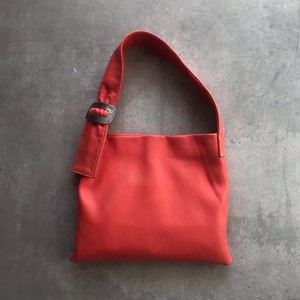 Ballade - Leather mini bag/ Coral