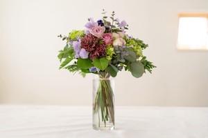 <母の日ギフト>  花束を贈る