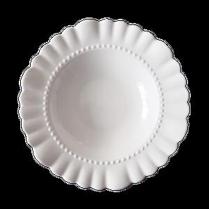 Scallop frill plate  / スカラップ フリル プレート 20cm