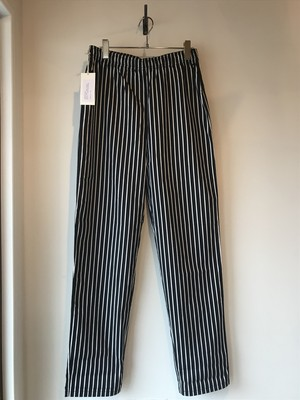 VOIRY DOCTOR PANTS(ドクターパンツ) BLACK-STRIPES