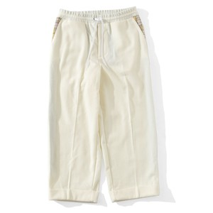PRIVATE BRAND BY S.F.S SIDE MESH VENTILATION WOOL SLACKS(IVORY)