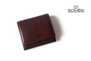 ソメスサドル|SOMES SADDLE|コインケース|ピント|PINT|PI-04|チョコレートブラウン
