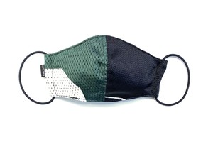 【夏用デザイナーズマスク 吸水速乾COOLMAX使用 日本製】SPORTS MIX MASK F0730110