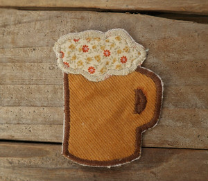 Hand made Patch  (BEER)