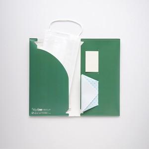 石の素材ハクアを使用したマスクケース[3種セット]【除菌ウェットティッシュと折り紙コップ付き】