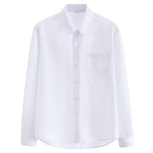 男子スクールシャツ 長袖 制服シャツ ワイシャツ 白シャツ 大きいサイズ メンズ 男の子 シャツ トップス 9204