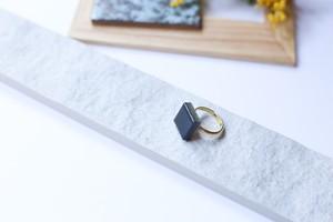 325伝統文化品美濃焼多治見タイル指輪・リング(フリーサイズ)