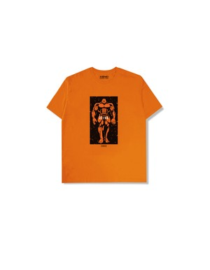 "XENO x BAKI Collaboration T-shirt ""OLIVA"" Orange"