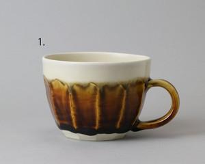 マグカップ -大 茶| 環窯