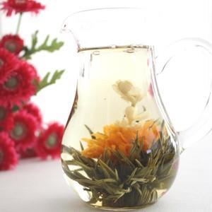 【中国茶・工芸茶】オリジナル高級品 新芽工芸茶  ドンファンメイレン 5粒