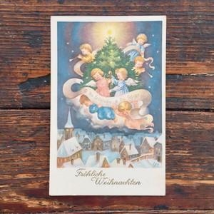 Antique christmas postcard EISENERZ