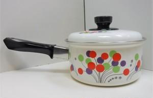 ホーロー製の片手鍋【風船/18】(0902203S100)