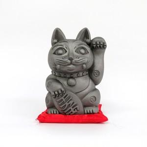 招き猫「招鬼猫きばニャンコ8号」鬼師kumi作