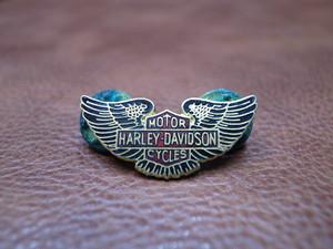 VTG Harley-Davidson ウィング&バー&シールド ピンバッチ②