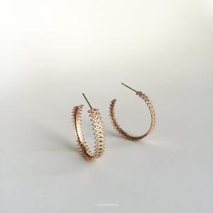lace hoop pierce