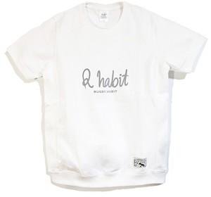 Logo サイドリブ T-shirts / ホワイト