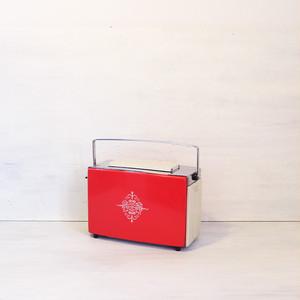 【R-416】レトロ 東芝トースター 赤バラ十字