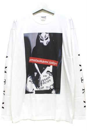 「狐繰/Ouija」Long T-shirts White
