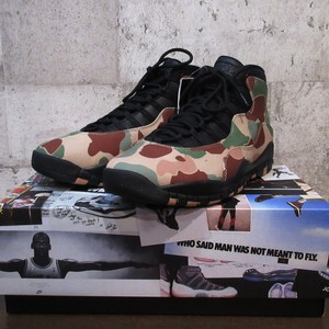 "NIKE AIR JORDAN 10 RETRO ""DUCK CAMO"""