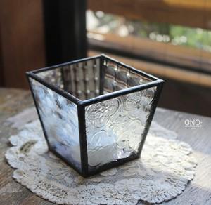 岩田けいこ*ステンドグラス  LEDランプL