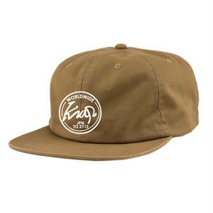 KRAP '18 6panel CAP - TAN