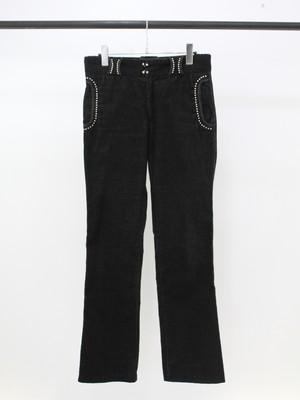 Used N.HOOLYWOOD studs corduroy pants