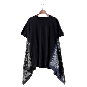 《Ladies商品》 FLEA BANDANA TEE -B(black×navy) <LSD-BM1T3>