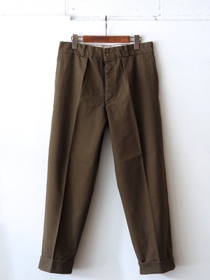 FUJITO Wide Slacks Khaki,Black