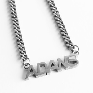 LOGO NECKLACE / SILVER