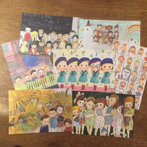 POST CARD set / children