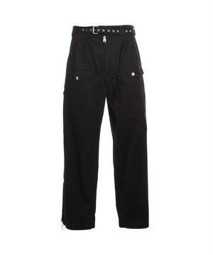 MARNI Belted Cargo Pants(S52545) Black PUMU0087A0