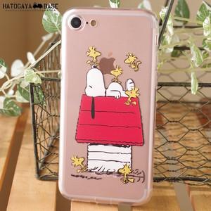 スヌーピーiPhone8/iPhone7ケース SNOOPY&WOODSTOCK [I7SSNT12]