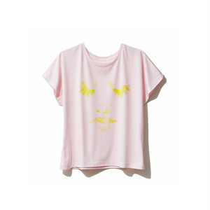 hntbk2004 Nao FACE ドルマンTシャツPINK