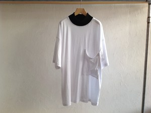 "69(sixtynine)""RINGER TEE WHITE/BLACK"""